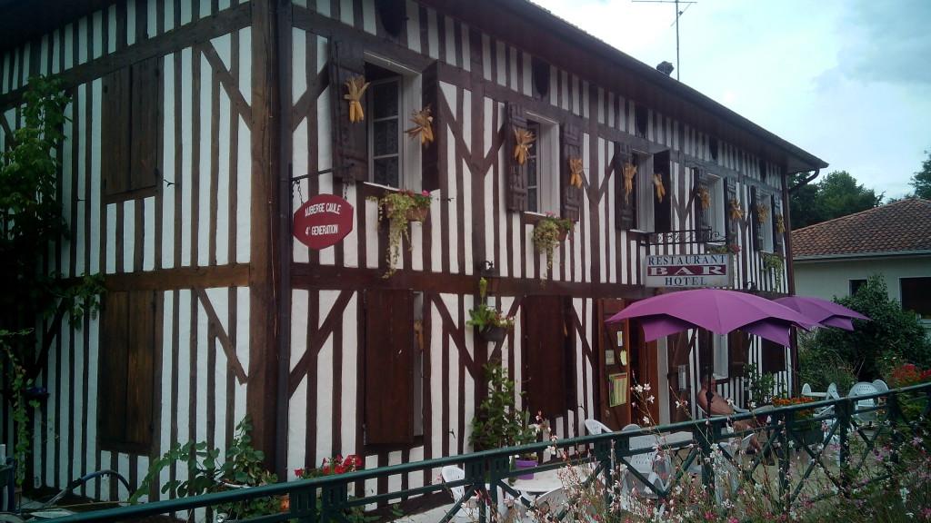 El restaurante que gestiona el albergue