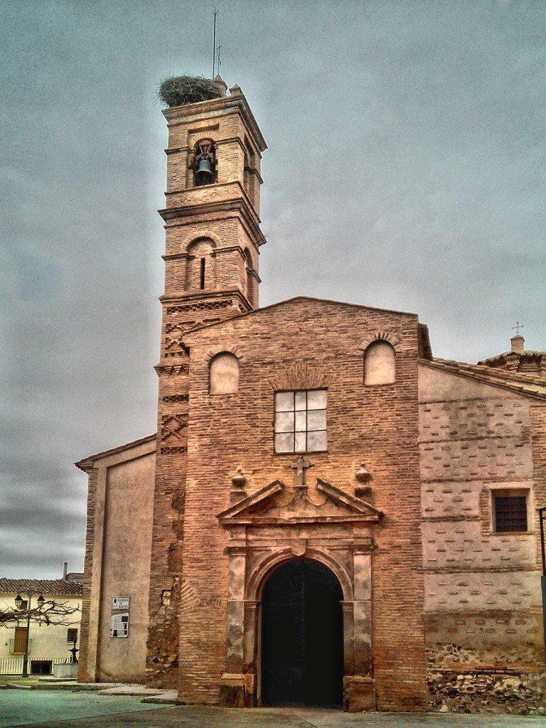 Iglesia de San Martín de Tours, Salillas de Jalón (Zaragoza) Estilo Mudéjar