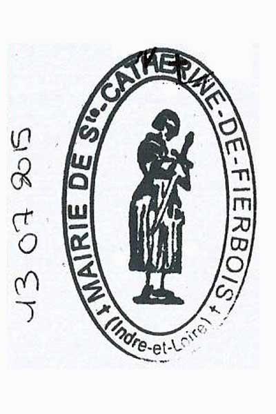 Sello de Sainte Catherine de Fierbois