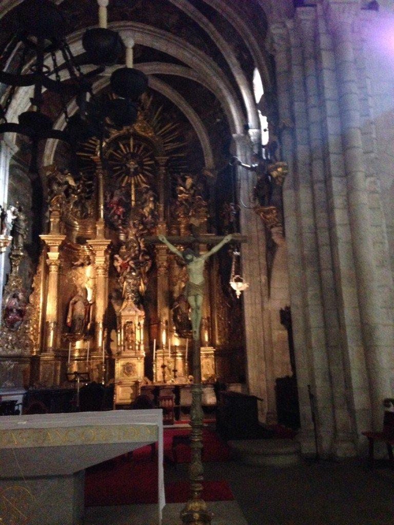 Interior de la Catedral de Mondoñedo, gracias a Dante