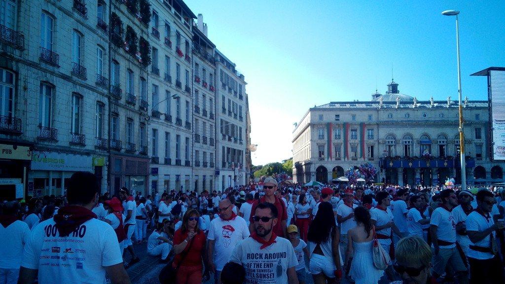 Fiestas en Bayonne