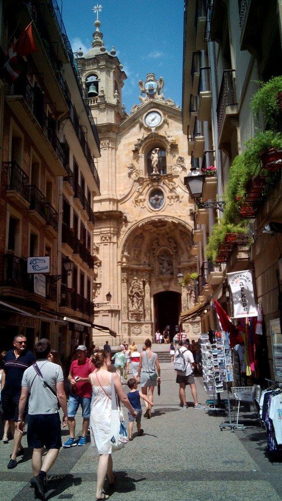 Basílica de Santa María del Coro. San Sebastián