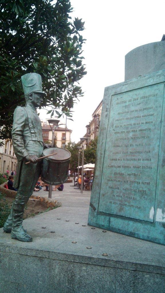 Monumento al Tamborrero (Donostia / San Sebastián)