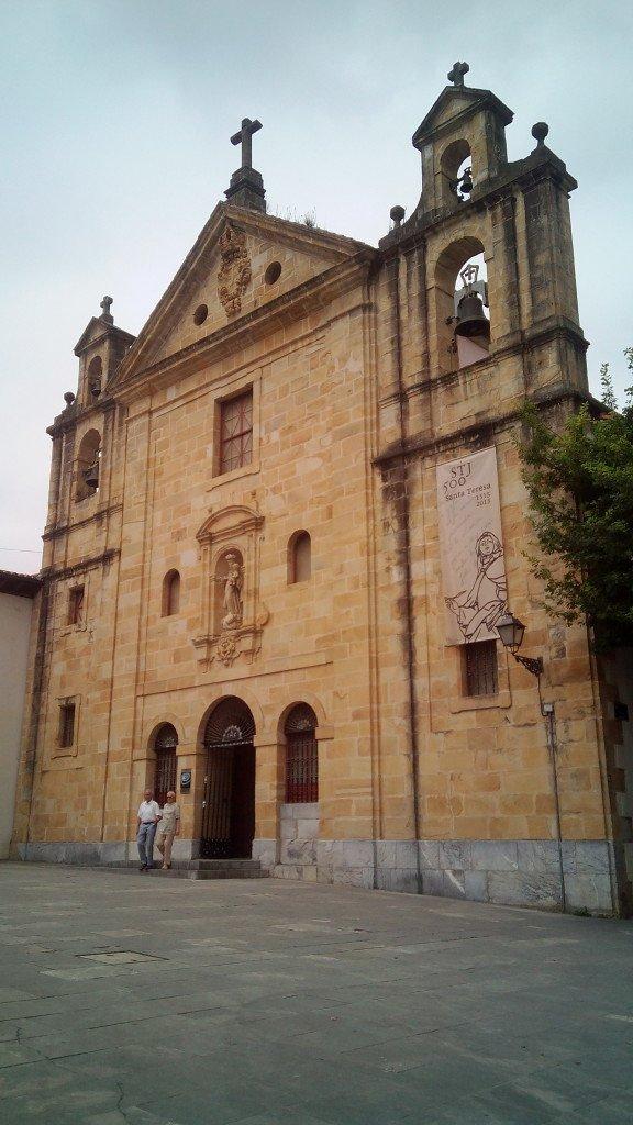 Iglesia de Santa Teresa. Markina