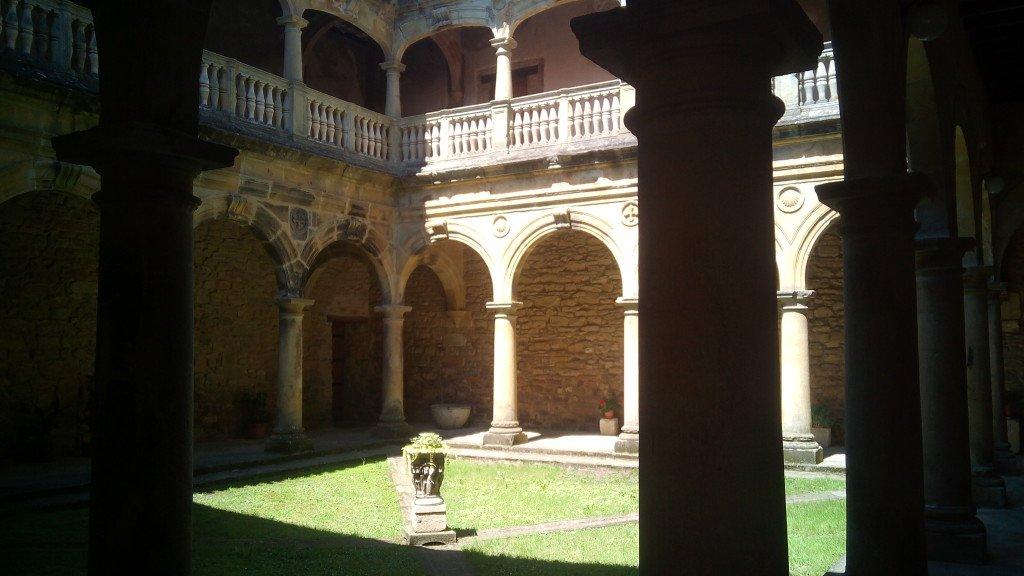 Atrio del Monasterio de Zenarruza