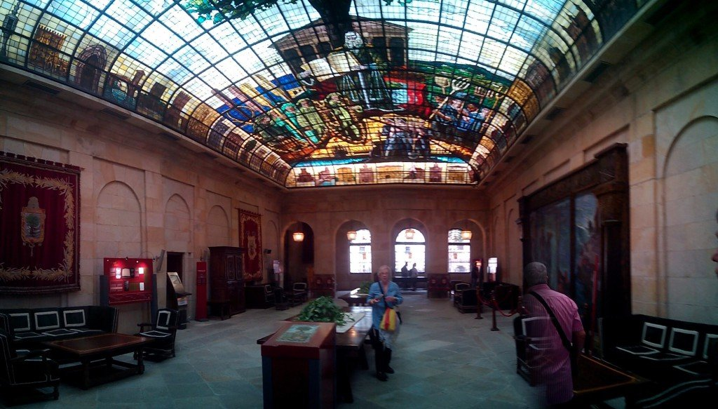 Salón de asambleas de Guernica