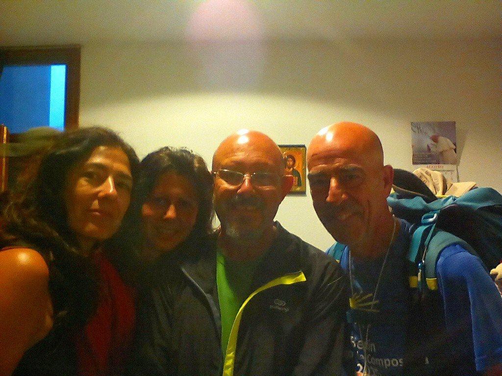 Con Ana y Myriam, dos mañas