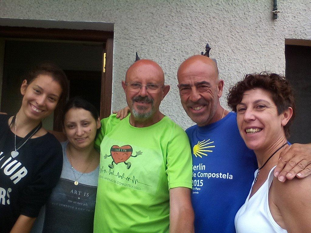 Stephanny, Mari Luz y Piedad