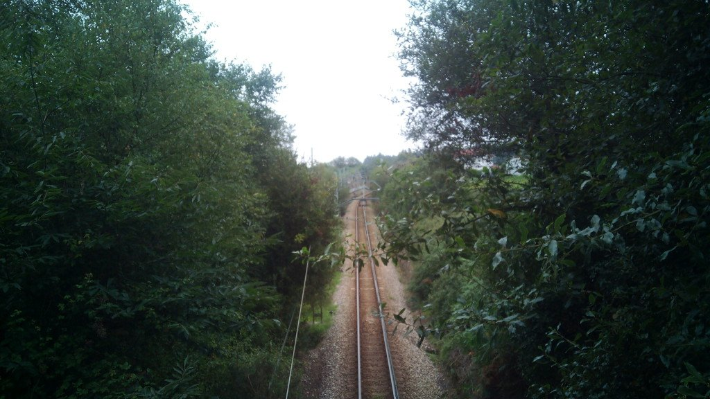 Vía FEVE de Ferrol a Oviedo