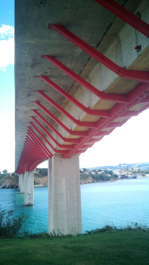 Puente sobre el Eo, en Ribadeo