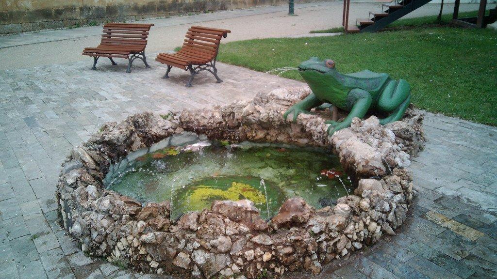 La fuente de la rana laurentina
