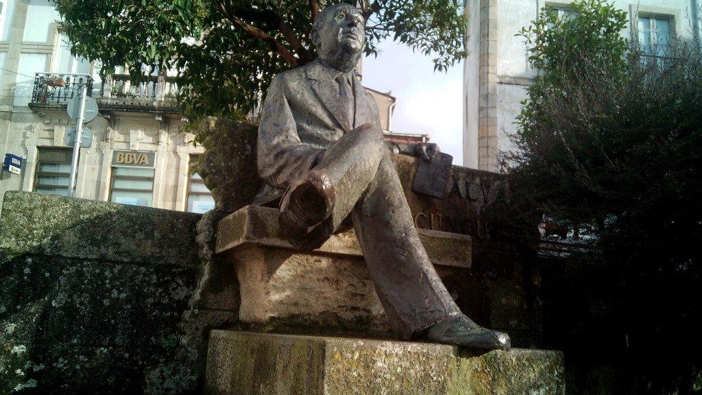 El escritor Alvaro Cunqueiro,