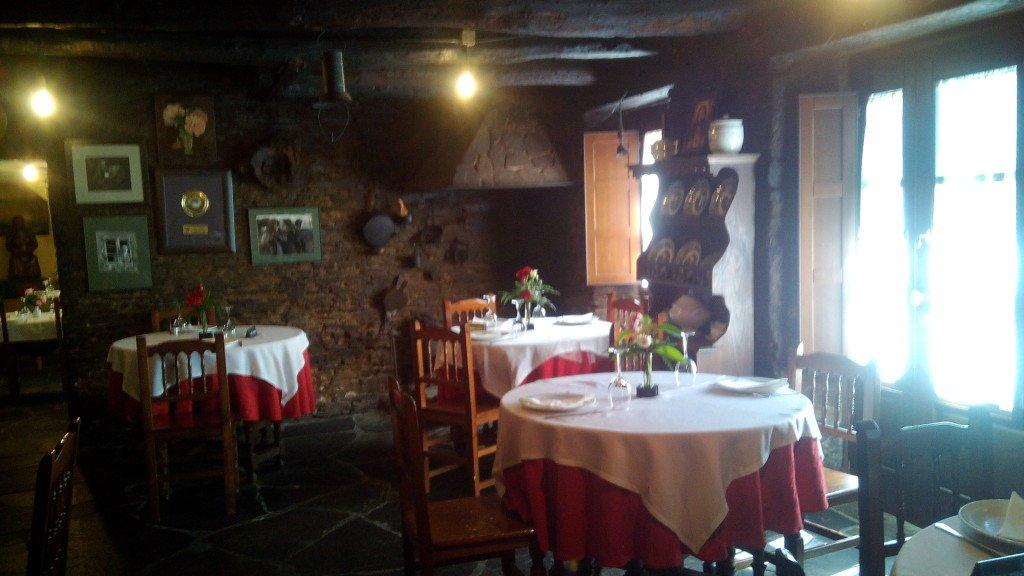 Salón del Restaurante Galicia