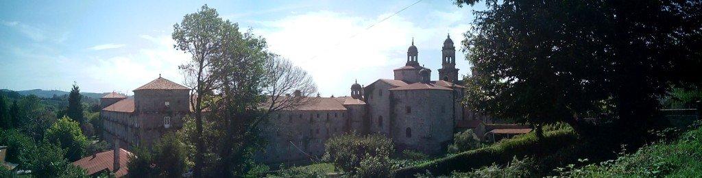 Vista panorámica del Monasterio Cisterciense