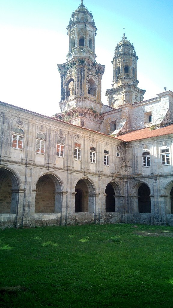 Claustro del Monasterio.Sobrado dos Monxes