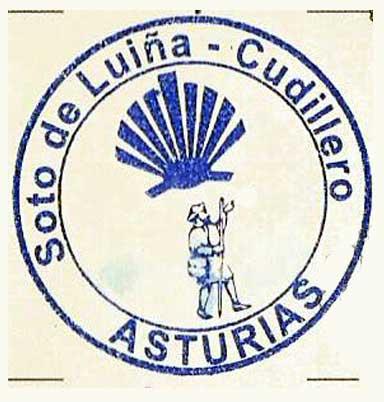 Sello de Soto de Luiña