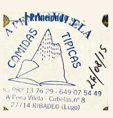 Sello de Ribadeo