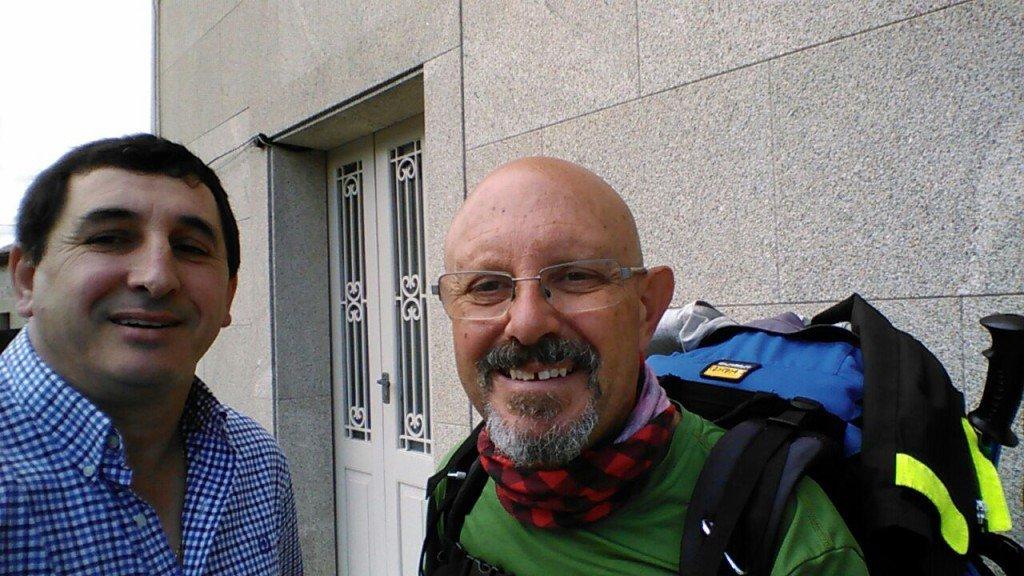 Un selfie con Andrés