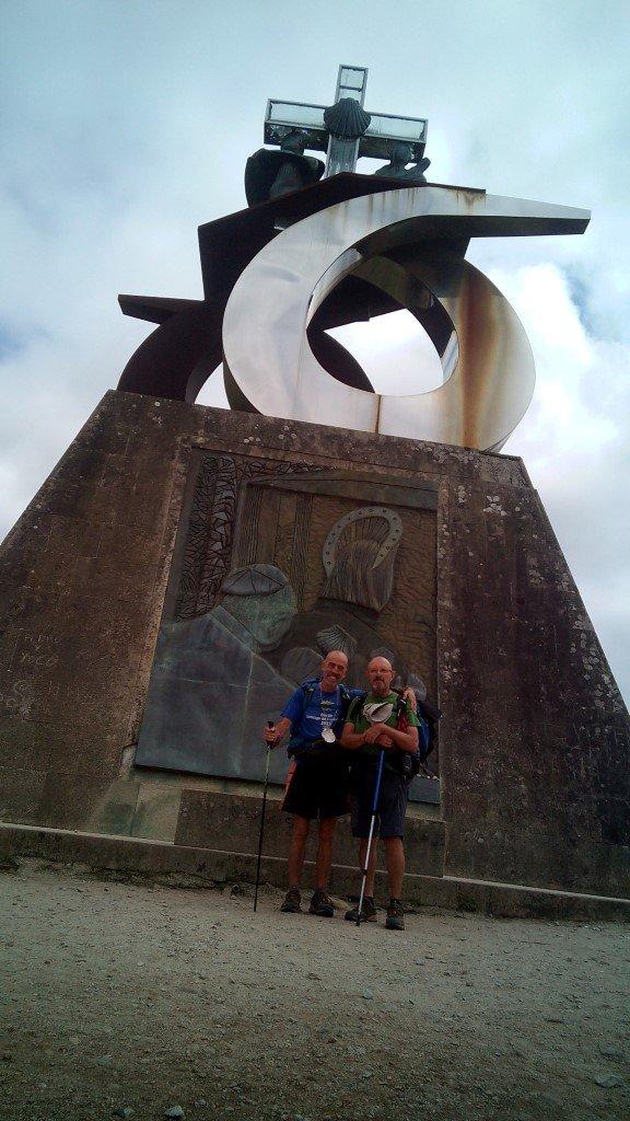 Salvador y yo, a un paso de Santiago