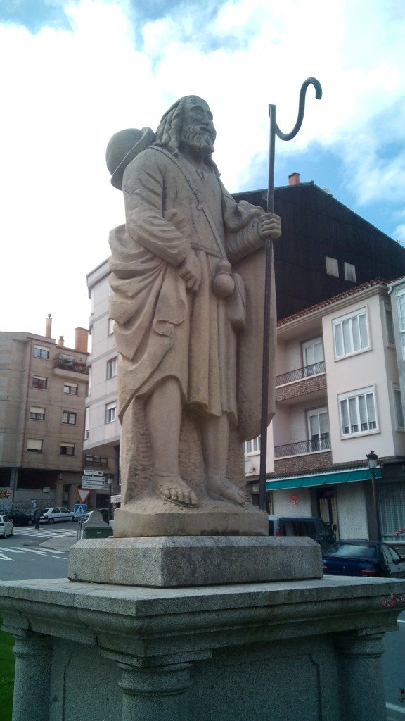 Monumento al Peregrino en Negreira