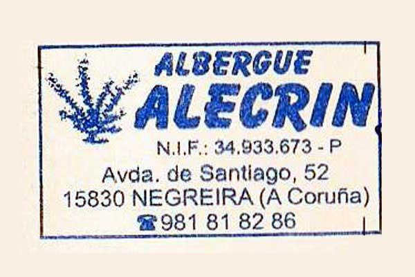 Sello de Alecrín, Negreira