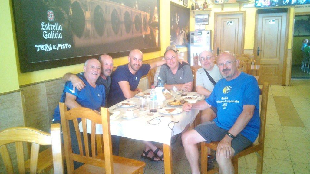 La peña peregrina, en Lugo