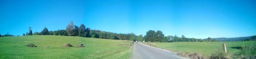 Panorámica del camino