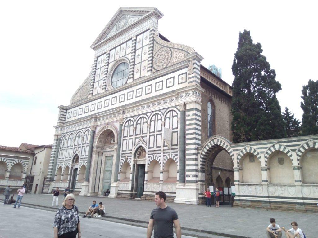 Basilica de Santa María Novella. Florencia