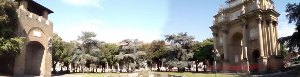 Panorámica de la Piazza della Libertá