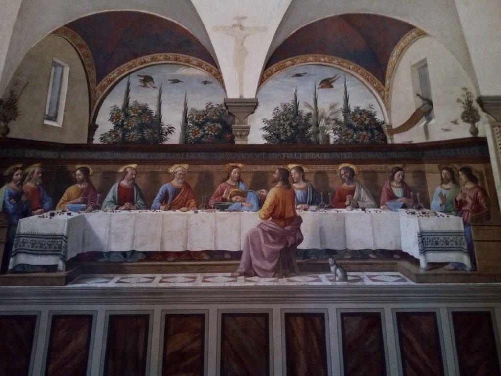 La Última Cena. Museo de S. Marco. Florencia