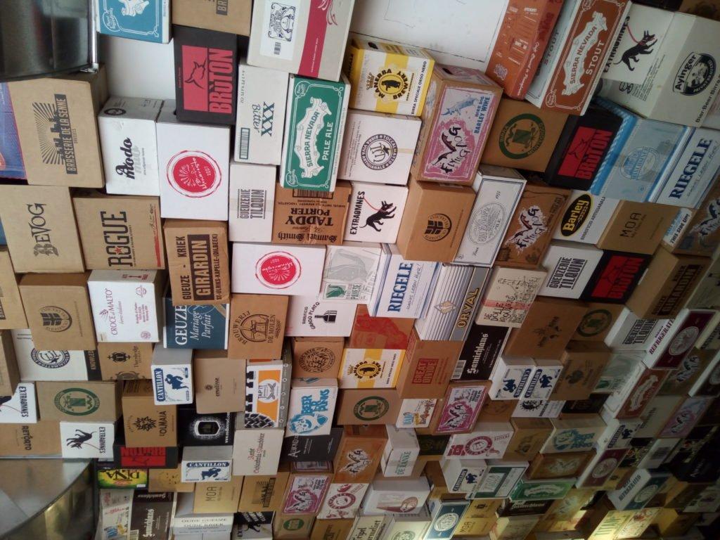 El techo del Beer House Club. Florencia
