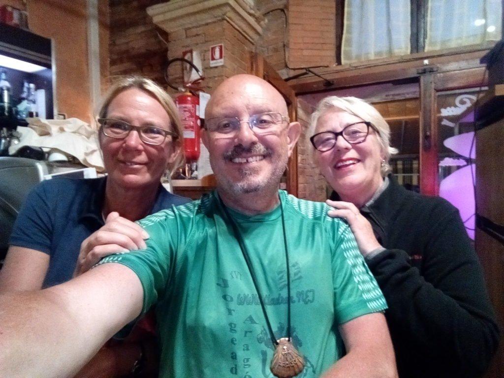 Selfie con Tina y Ruselle