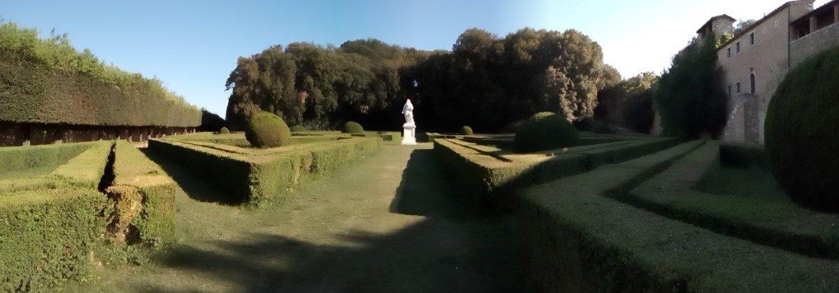 Jardines de Horti Leonini. San Quirico D'Orcia