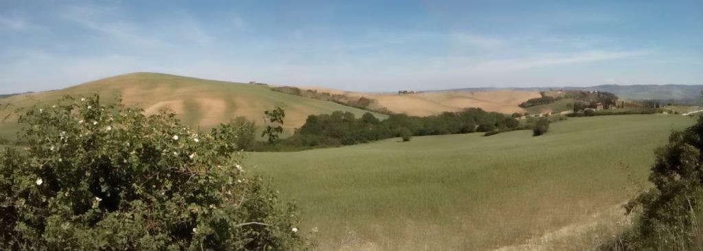 Otra panorámica de la Toscana