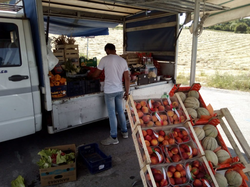 Puesto de frutas de Miguel