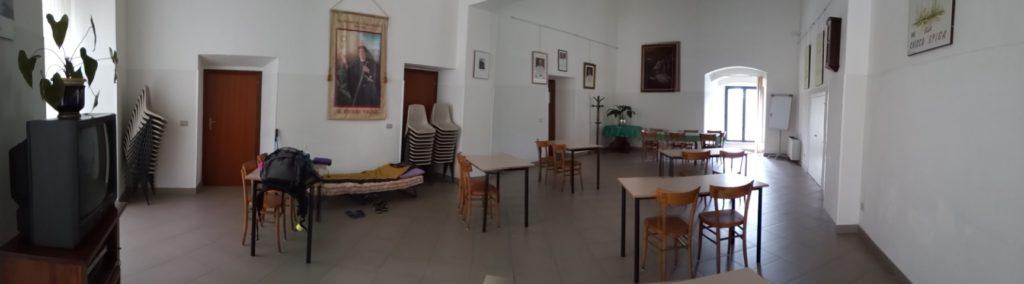 Mi albergue de esta etapa, en Bolsena