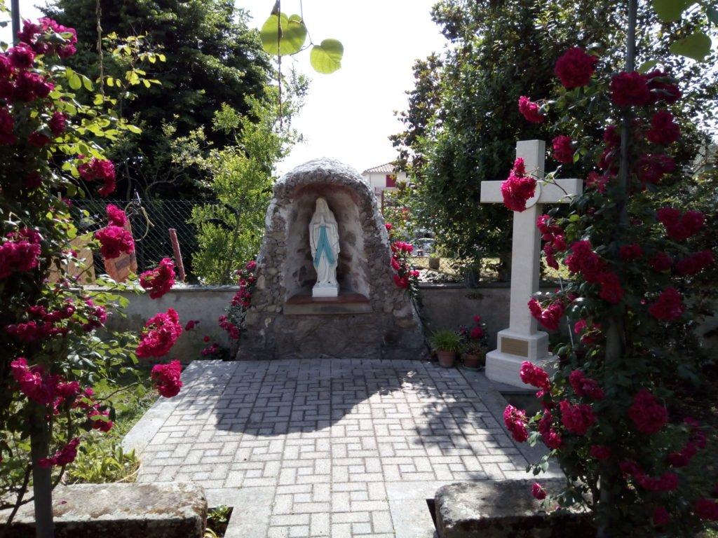 Jardín de las Hermanas del Santísimo Sacramento. Bolsena