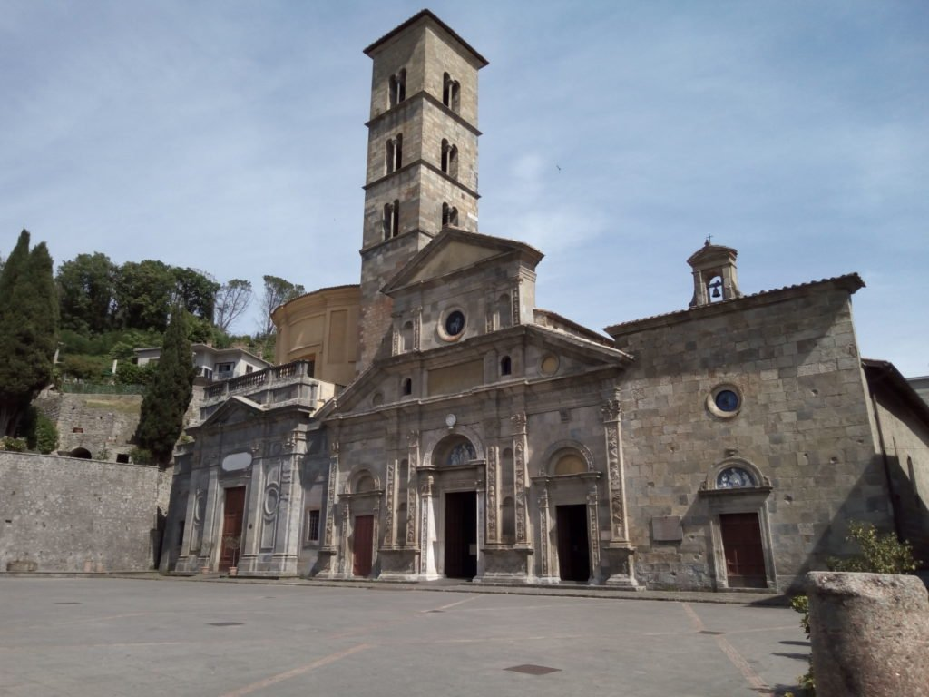 Iglesia de Santa Cristina mártir. Bolsena