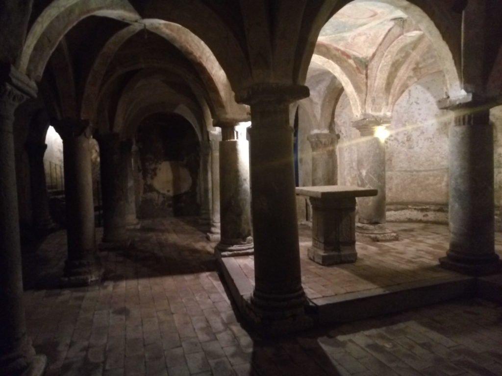 Cripta de la Parroquia de San Francisco. Vetralla