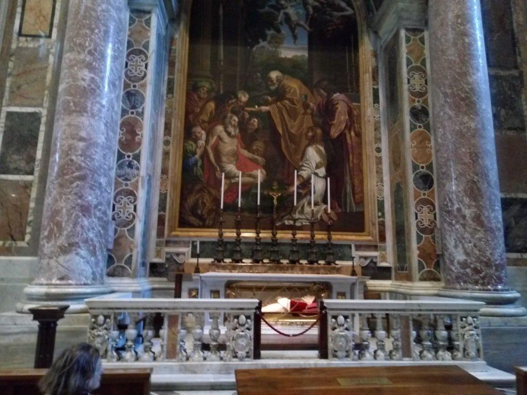 Basílica de San Pedro, cuerpo incorrupto de Juan XXIII