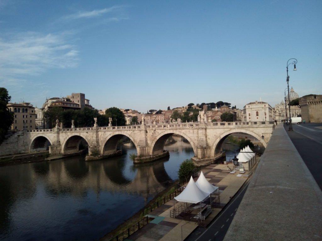Ponte Vittorio Emanuele II. Roma