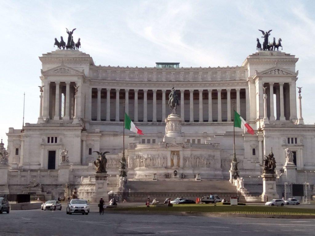 Monumento a Vitorio Emanuele II, primer rey de Italia