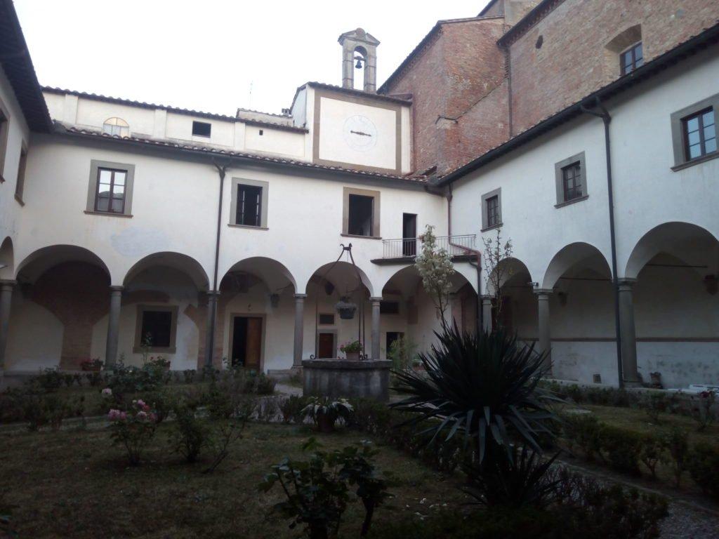 Claustro del Convento de San Francisco. San Miniato
