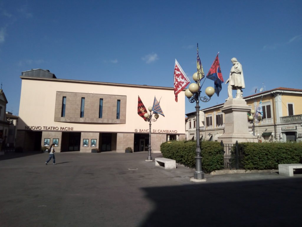 Plaza en Ponte a Cappiano