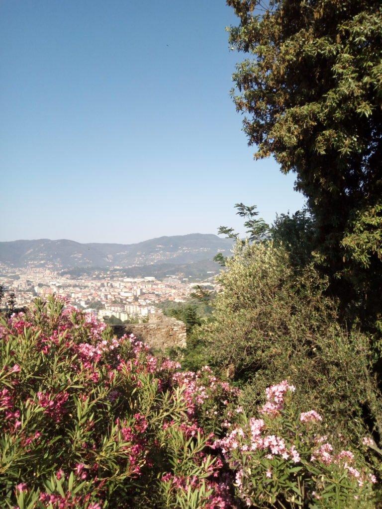 Las vistas y el entorno, maravillosos