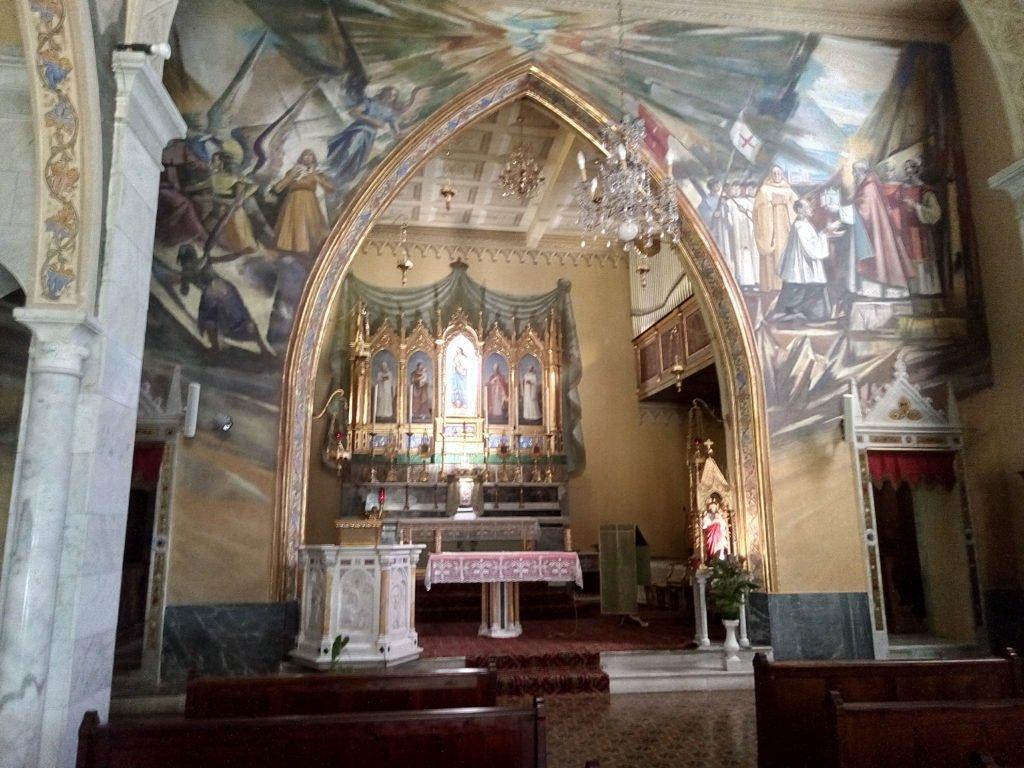 Interior del Monasterio de San Próspero