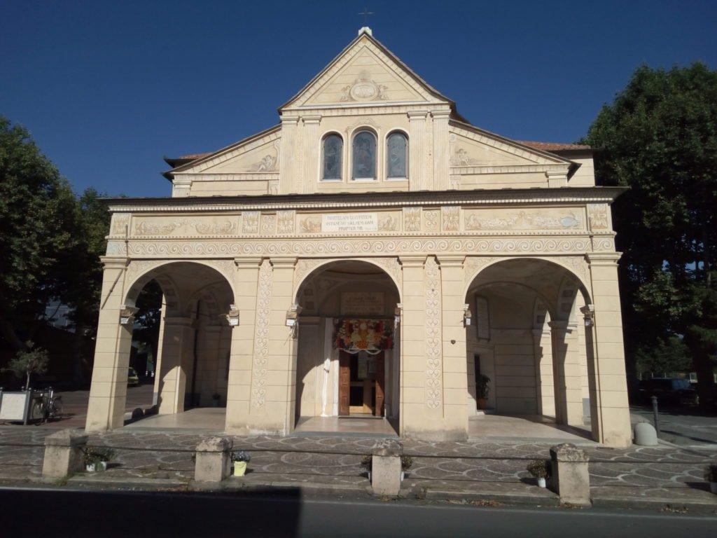 Santuario Madonna di Pontelungo. Albenga