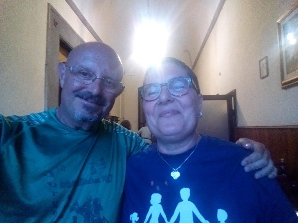 Un selfie con Cristina. San Miniato