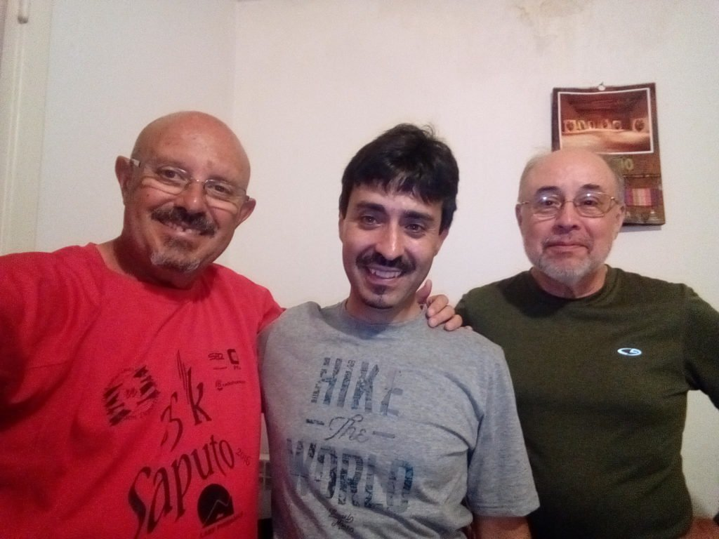 Un selfie con Jose, peregrino de Murcia que va a Roma