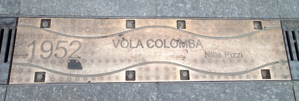 San Remo 1952, Vola colomba. Vuela paloma.